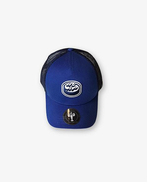 Trucker cap logo