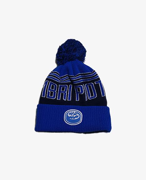 Berretto vintage blu